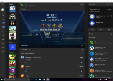 Windows 10 Xbox One App