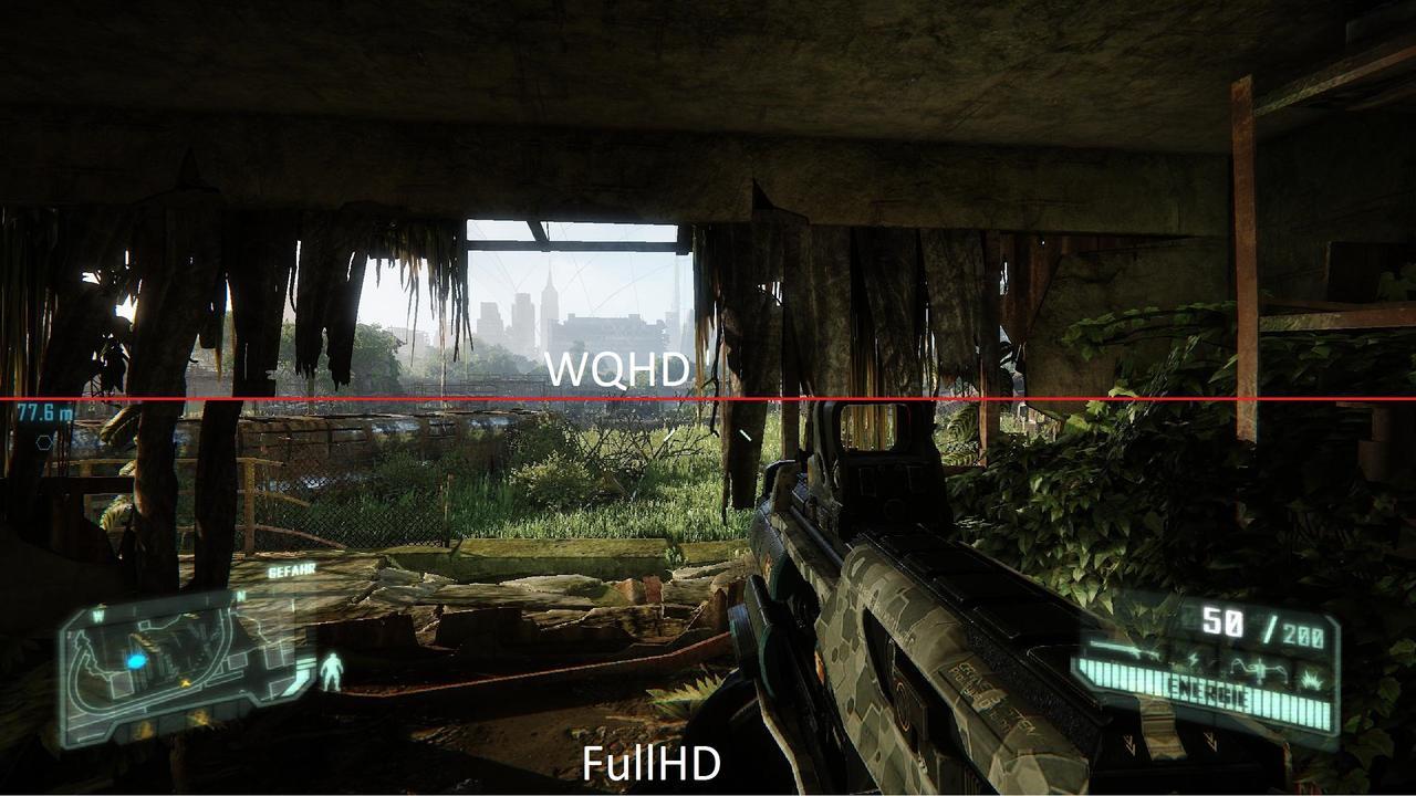 AOC Q2778VQE Gaming Monitor Mit 1ms Reaktionszeit Und WQHD