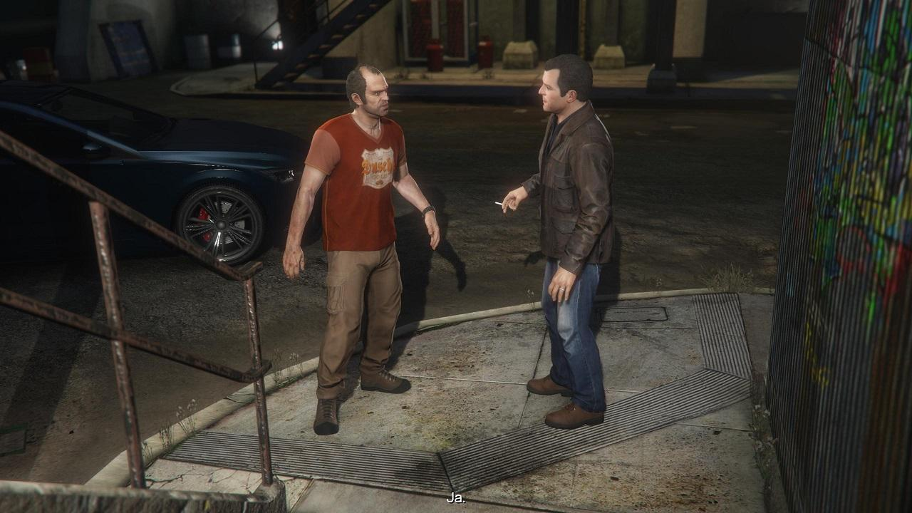 Grand Theft Auto 5 Trevor und Michael