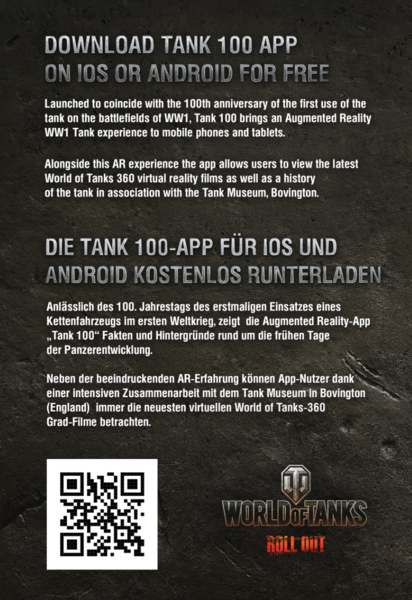 World of Tanks Tank 100 App