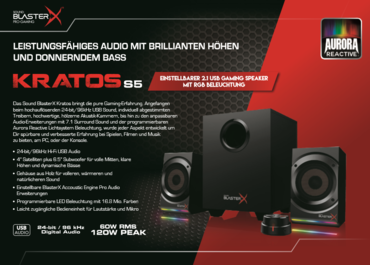 Sound BlasterX S5 Kratos