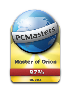 Master of Orion Award 97