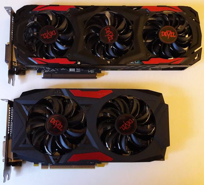 PowerColor RX470 Red Devil / RX480 Red Devil Vergleich