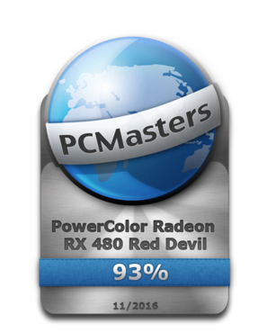 PowerColor RX480 Award 93%