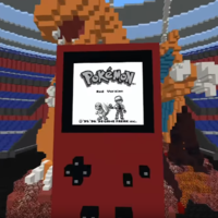 Fan baut Pokemon rote Edition in Minecraft nach