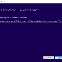Windows 10 von USB Stick installieren