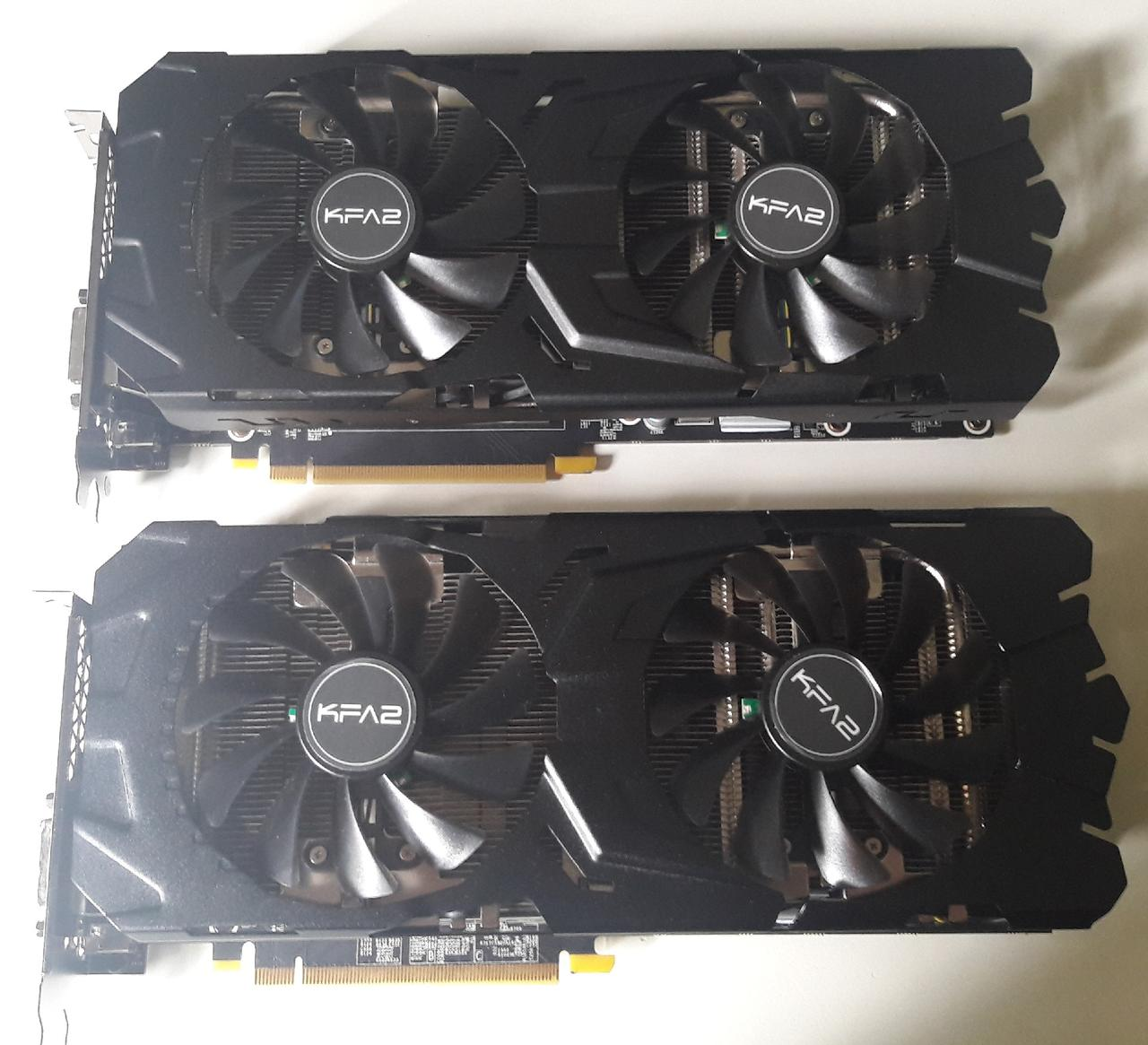 KFA2 GeForce GTX 1080 EXOC vs 1070