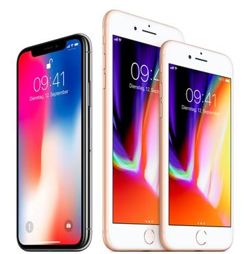 Apple präsentiert iPhone 8, iPhone 8 Plus und iPhone X