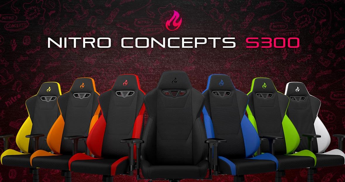 Nitro Concepts S300 Gaming-Stühle