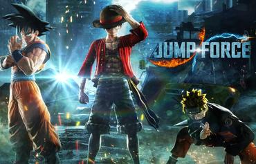 Manga  Beat em Up Jump Force angespielt