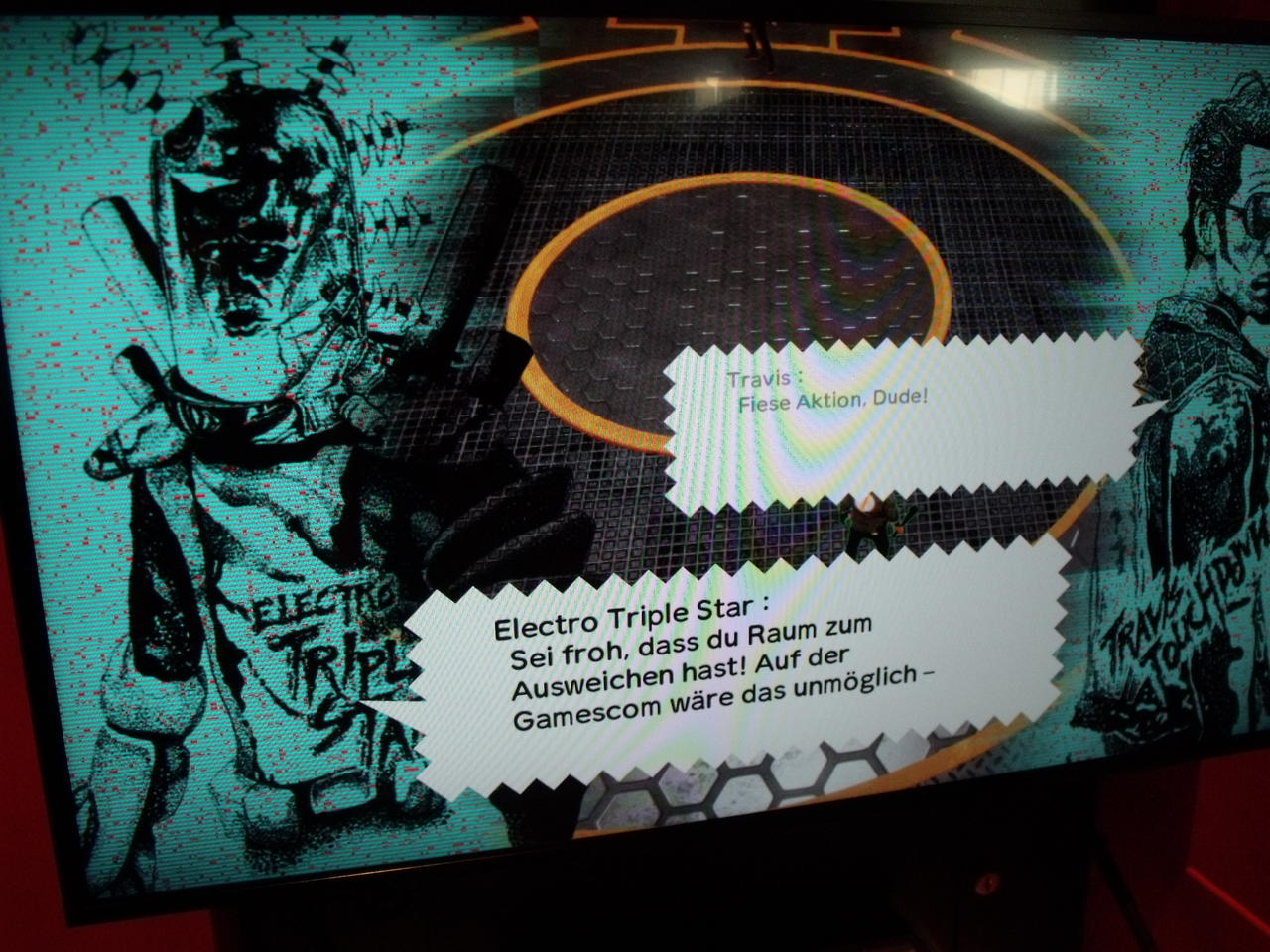 Travis Strikes Again gamescom 3
