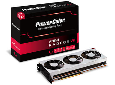 PowerColor Radeon VII als Referenz und 4 Custom Design Grafikkarten (Update)