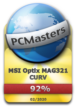 MSI Optix MAG321 CURV Award