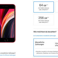 Apple iPhone Ratenzahlung nun möglich