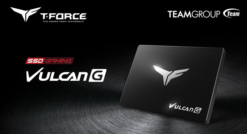 TEAMGROUP T-FORCE VULCAN G SSDs