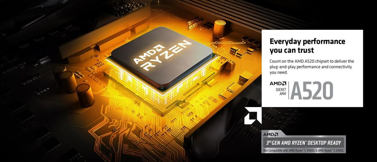 AMD A520 Mainboards - Chipsatz
