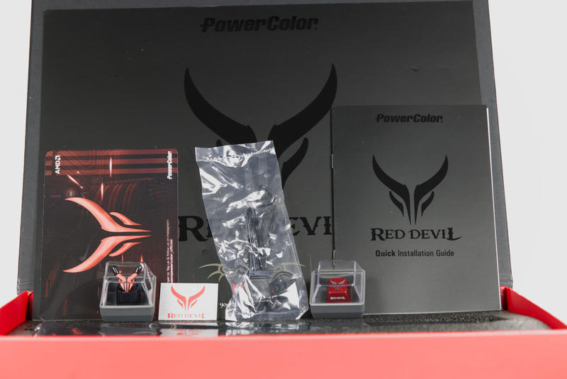 PowerColor Red Devil RX 6800 XT Lieferumfang