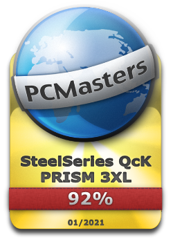 SteelSeries QcK PRISM 3XL Award