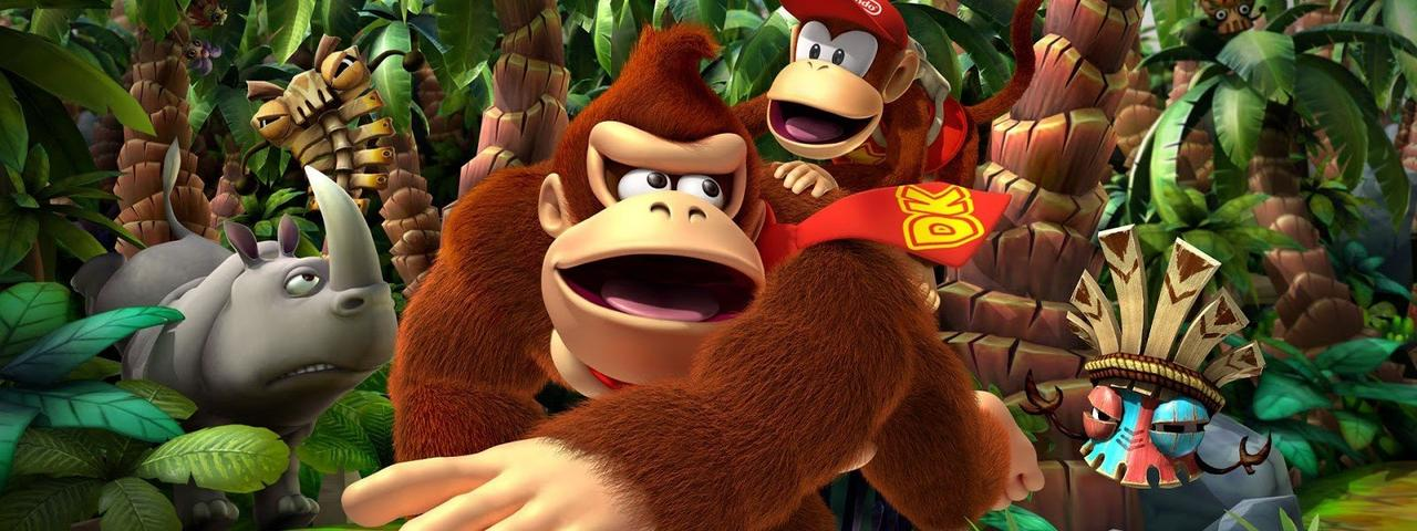 Donkey Kong Country Returns 3D Opener
