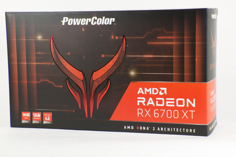 PowerColor Red Devil RX 6700 XT Verpackung