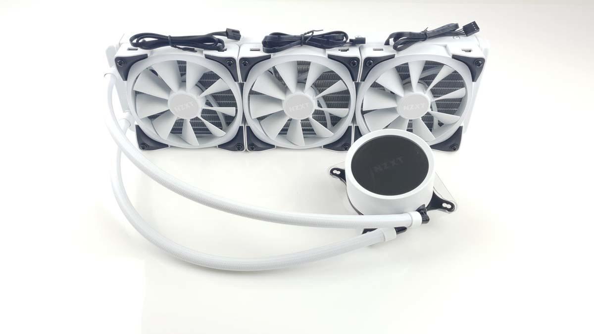 NZXT Kraken X73 RGB White Preis & Test