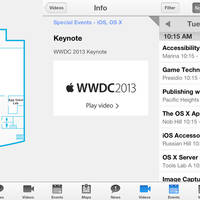 Apple WWDC-App deutet auf neues Design in iOS 7