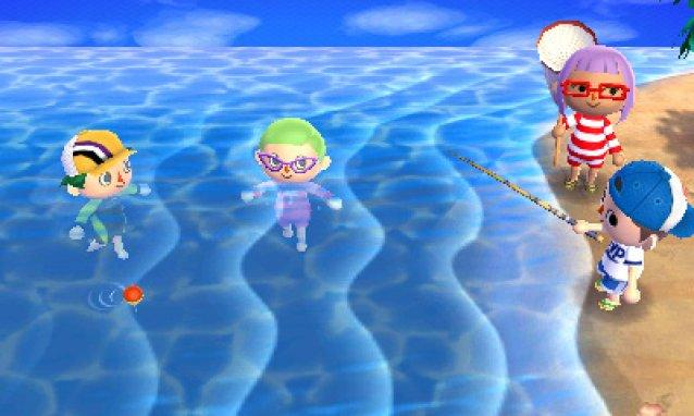 Animal Crossing New Leafe Nintendo 3DS Screenshot 2