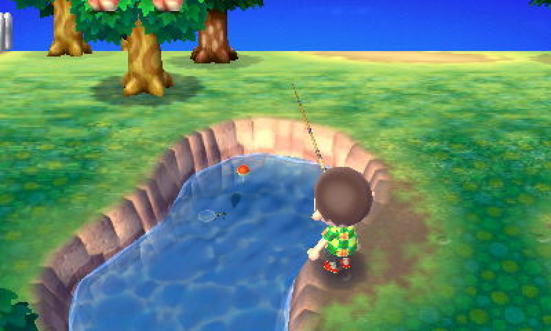 Animal Crossing New Leafe Nintendo 3DS Screenshot 4