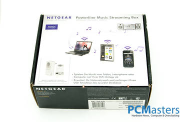 Netgear Powerline Music Streaming Box im Kurztest