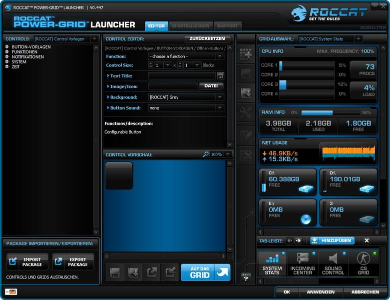 Power Grid Launcher Editor 1