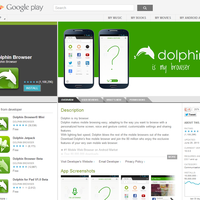 Dolphin: Mobiler Browser in Version 10 erschienen