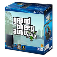 GTA 5: 500 GB-PlayStation 3 Megabundle