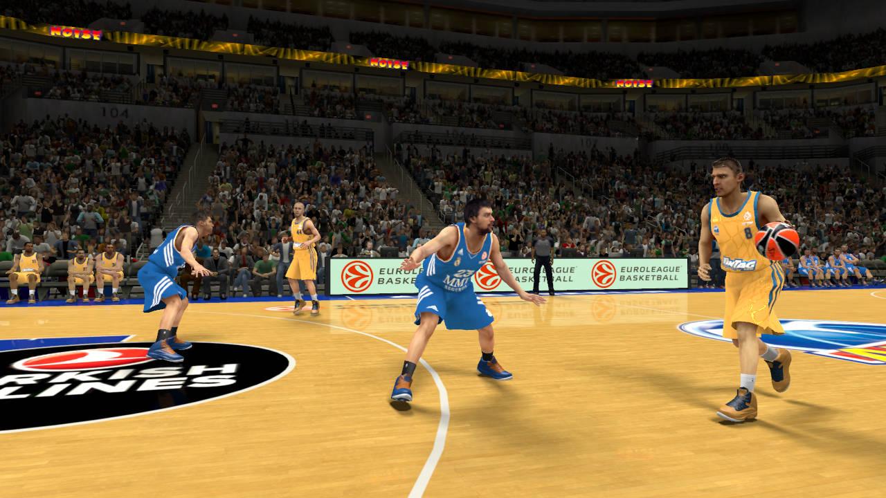 NBA 2K14: Basketballspiel nun auch mit europäischen Mannschaften ...