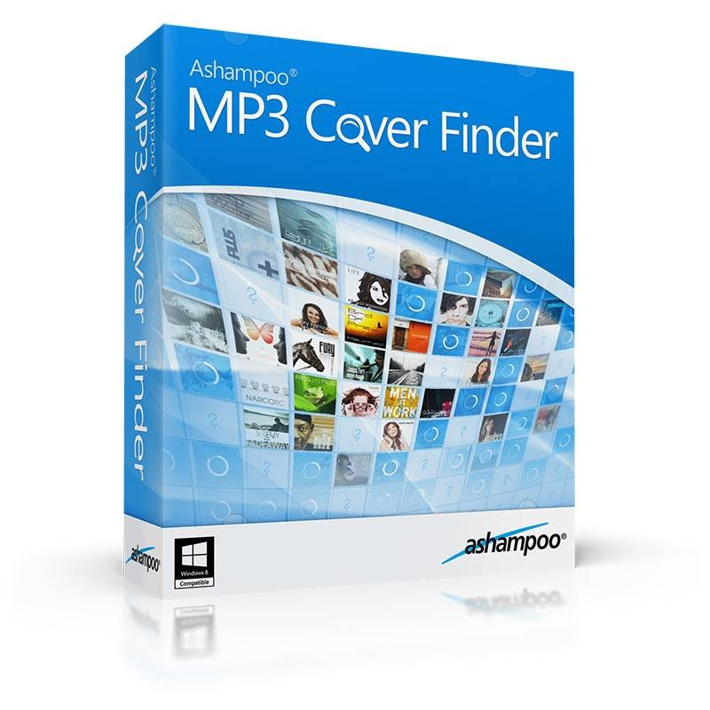 Ashampoo MP3 Cover Finder Box