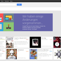 Google Play Store: Web-Version mit neuer Optik