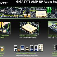 Gigabyte Amp-Up: Mainboards für Audiophile