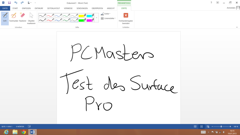 Test Surface Pro