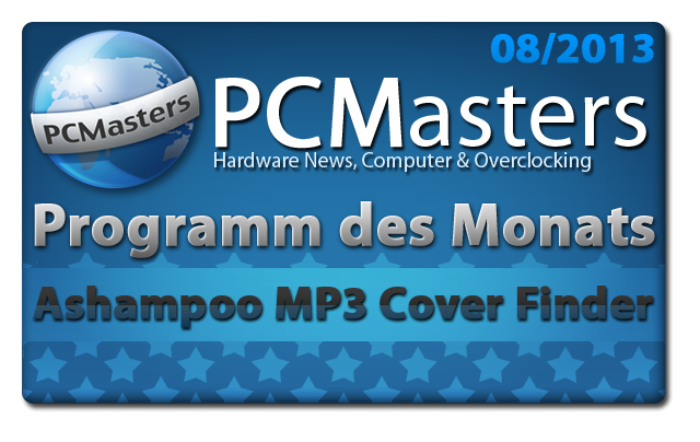Ashampoo MP3 Cover Finder - Programm des Monats