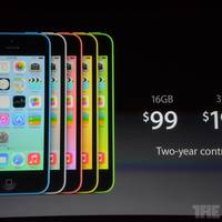 Apple enthüllt iPhone 5C