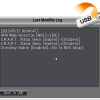 UEFI Funktionen Modifi-Log