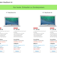 Apple Black Friday: MacBook Air ab 898 Euro, MacBook Pro mit Retina-Display ab 1.198 Euro