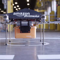 Amazon PrimeAir: Warenzustellung ab 2017 per Drohne?
