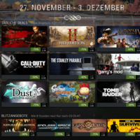 Steam Herbstaktion 2013: Heute mit CoD: Black Ops II, Scribblenauts Unlimited und Tomb Raider