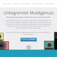 Google Play Music All-Inclusive: Streaming-Dienst ab sofort auch in Deutschland nutzbar