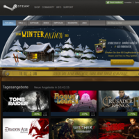 Steam Winteraktion: Heute mit Tomb Raider, Max Payne 3 und The Walking Dead