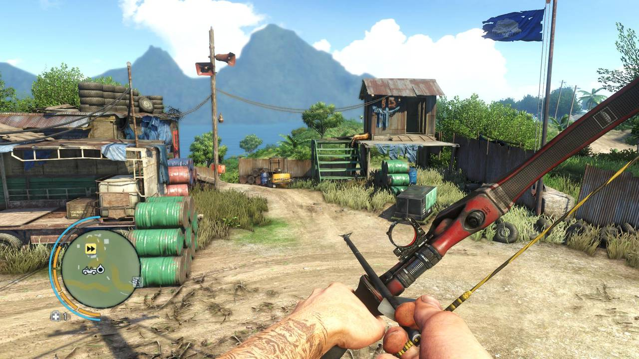 Far Cry 3 Benchmarkszene