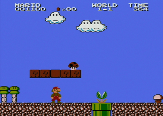 Super Mario Bros. 2 - The Lost Levels Screenshot 1
