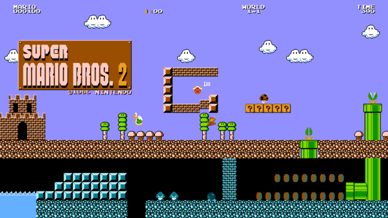 Super Mario Bros. 2 - The Lost Levels Opener