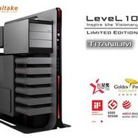 Thermaltake Level 10 Titanium: Edler Gaming-Tower in limitierter Auflage